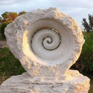 CITY OF BUSSELTON ACQUISITIVE AWARD 2019 Kashmir Rouw Stone Shell Spiral