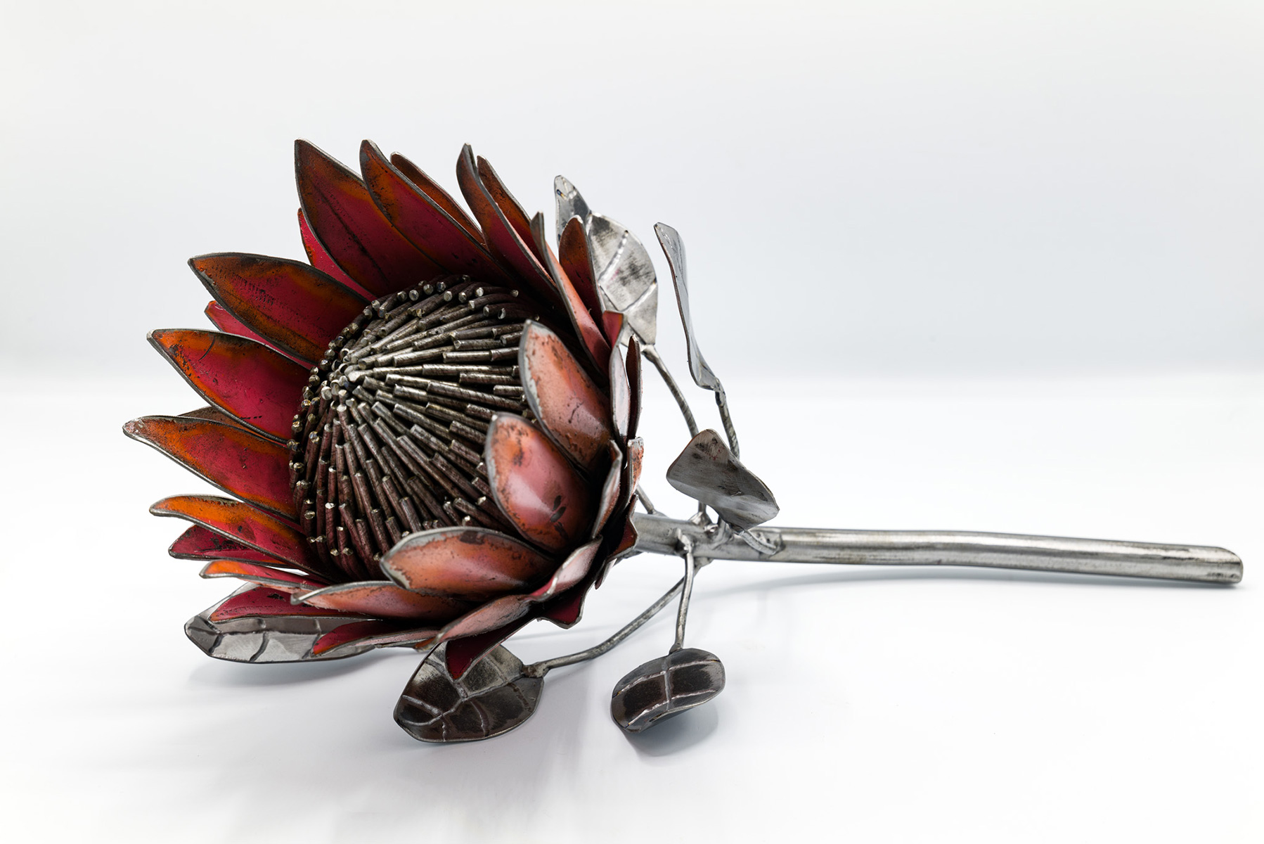 Small Sculpture Prize - Gallery - King Protea by James Horsley #sculpturebythebay #sculptures #artwork