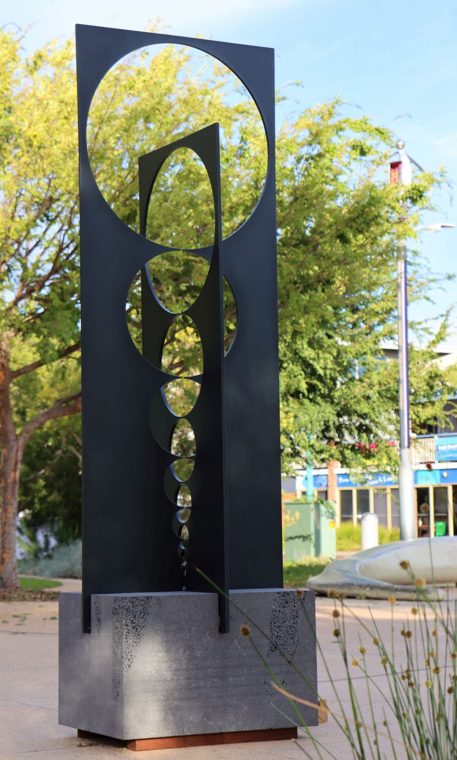Sculpture by the Bay - Visual Music - Simon Youngleson