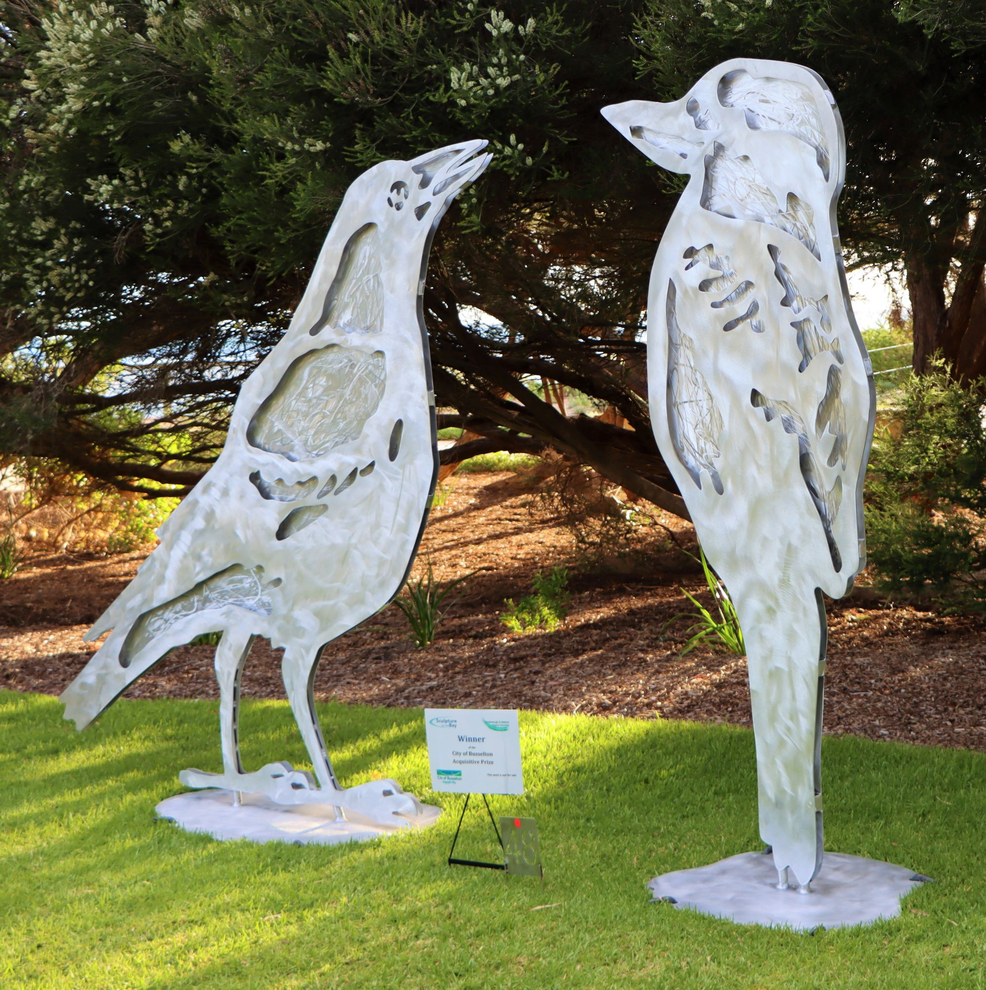 Sculpture by the Bay, Dunsborough - Small Sculpture Award Winners